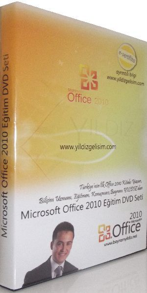 Office 2010 DVD Eğitim Video