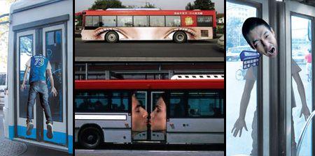 Clever and Creative Bus Advertising