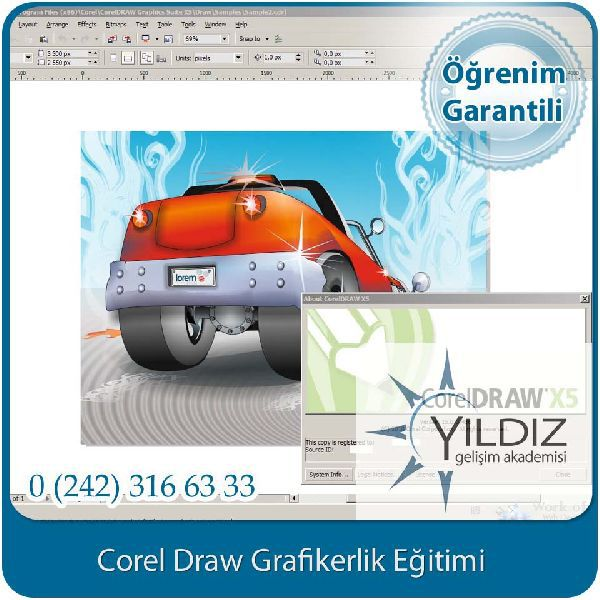 corel draw grafikerlik