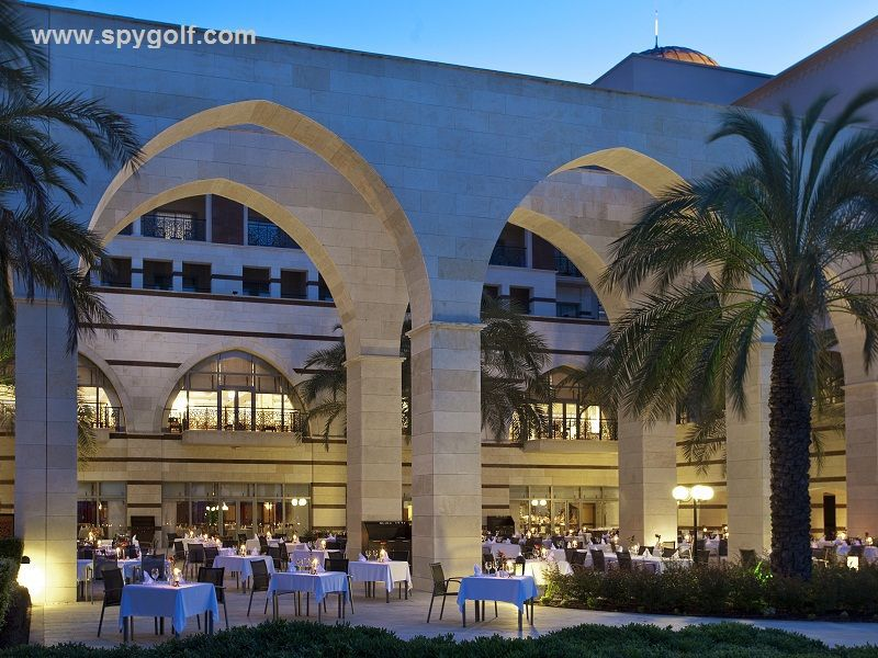 Kempinski The Dome Restaurant Terrace