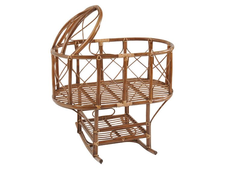 Bamboo Baby Cradle 1