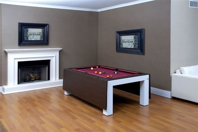 Zebrano Dining Pool Tables3