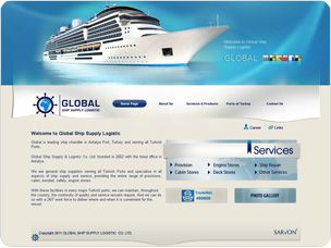 web tasarım global shipsupply