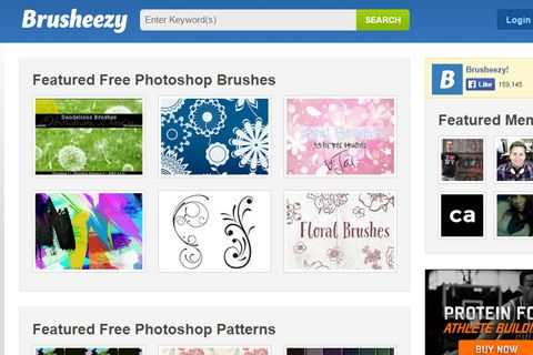 brusheezy free brushes resources