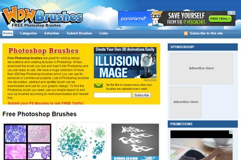 wowbrushes free brush downloads