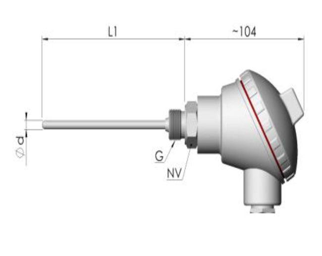 pt100 direnç termometresi